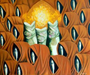 """Time, View, Chronicles, Size: 24""""X30"""", Oil on Canvas"""